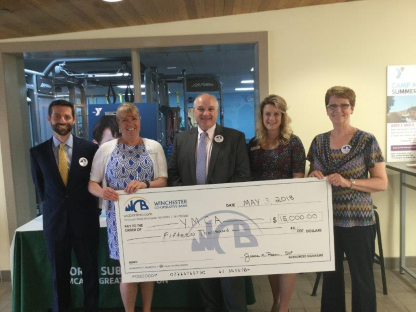 WCB Donation To YMCA